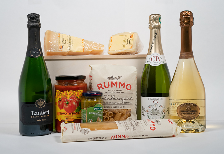Champagne & Bubbles Mixed Case AMEX